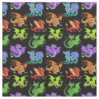 Dragon Scene Kids Slender Fabric