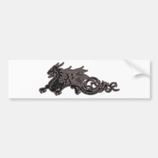 Dragon Serpent Bumper Sticker