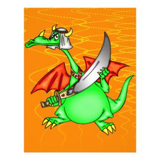 Dragon Sheik 21.5 Cm X 28 Cm Flyer