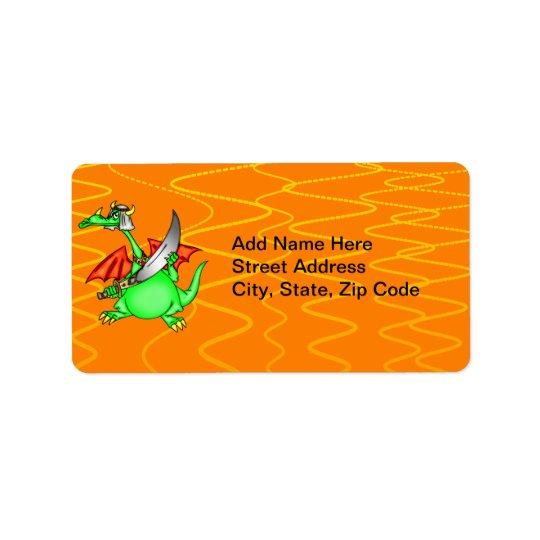 Dragon Sheik Address Label