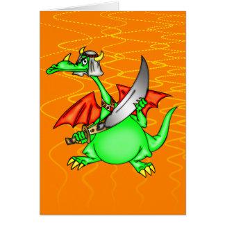Dragon Sheik Stationery Note Card