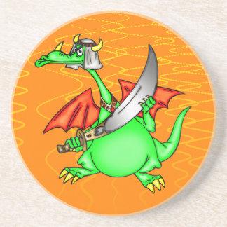 Dragon Sheik Drink Coaster