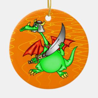 Dragon Sheik Christmas Tree Ornaments