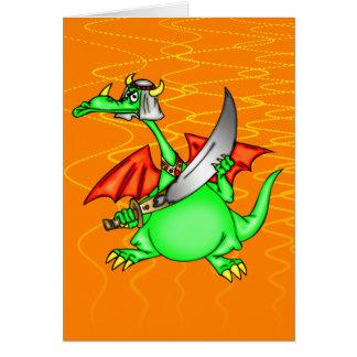 Dragon Sheik Greeting Card