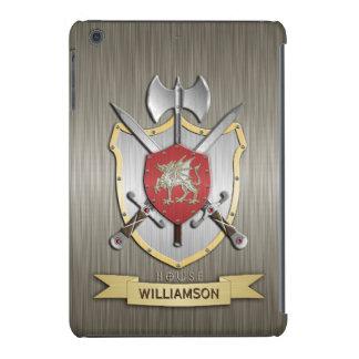 Dragon Sigil Battle Crest Armor iPad Mini Retina Covers