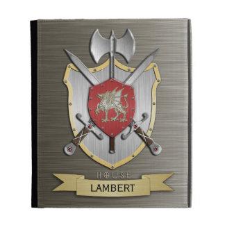 Dragon Sigil Battle Crest Armor iPad Folio Cases