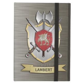 Dragon Sigil Battle Crest Armor iPad Covers