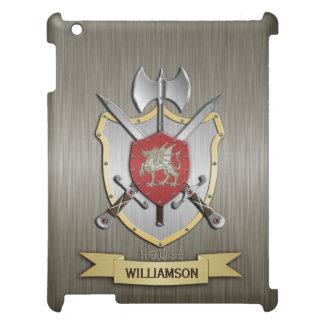 Dragon Sigil Battle Crest Armor iPad Mini Cover