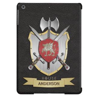 Dragon Sigil Battle Crest Black iPad Air Cases