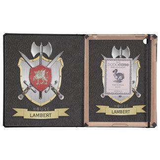 Dragon Sigil Battle Crest Black Cases For iPad