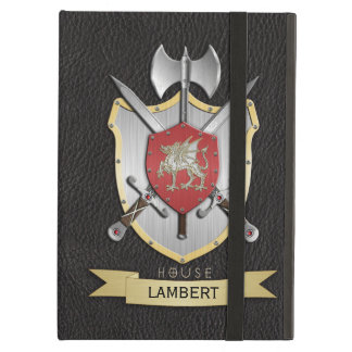 Dragon Sigil Battle Crest Black iPad Air Case