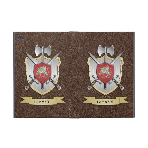 Dragon Sigil Battle Crest Brown Cases For iPad Mini