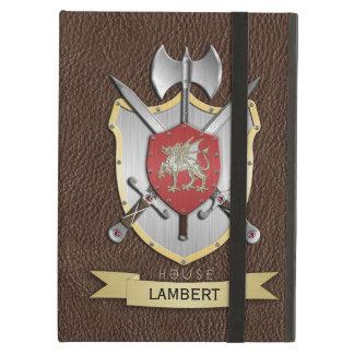 Dragon Sigil Battle Crest Brown iPad Folio Cases