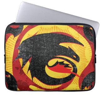 Dragon Silhouettes Laptop Sleeves