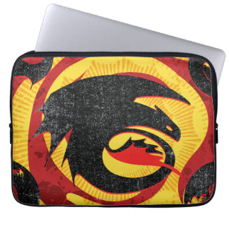 Dragon Silhouettes Laptop Sleeves