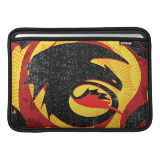 Dragon Silhouettes MacBook Sleeves