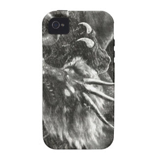dragon sketch Case-Mate iPhone 4 covers