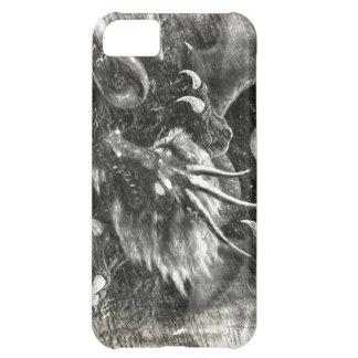 dragon sketch iPhone 5C cases