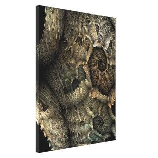Dragon Skin Fractal Art Canvas Print