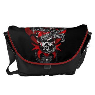 Dragon Skull Messenger Bag - Large