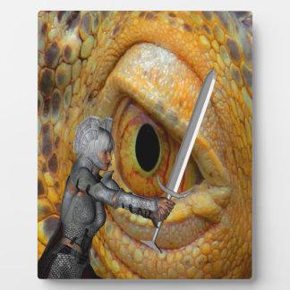 Dragon Slayer 3 Plaque