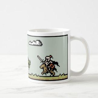 Dragon Slayer 8-Bit Pixel Art Mug