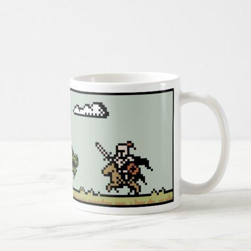 Dragon Slayer 8-Bit Pixel Art Mug Mug