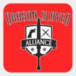 Dragon Slayer Alliance Square Sticker