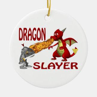 Dragon Slayer Christmas Ornament