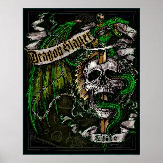Dragon Slayer Elite Poster
