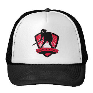 Dragon Slayer Knight  Clothing Cap