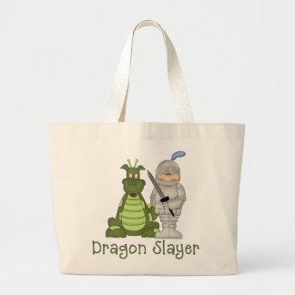 Dragon Slayer Large Tote Bag