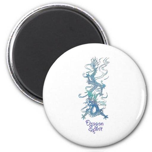 DRAGON SPIRIT Art Collection Fridge Magnet
