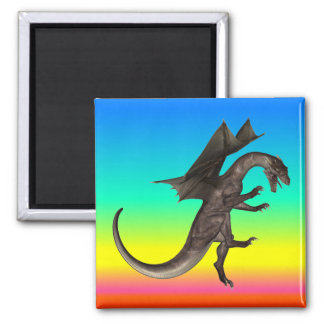 Dragon Square Magnet