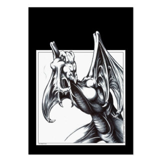 Dragon Stalking Large Business Cards (Pack Of 100)