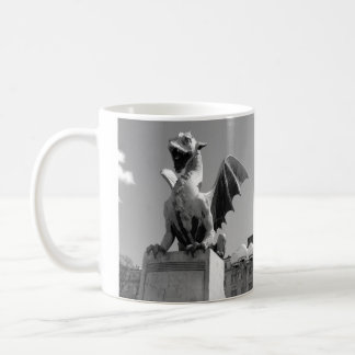 Dragon statue in Ljubljana Slovenia Coffee Mug