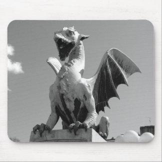Dragon statue in Ljubljana Slovenia Mouse Mat