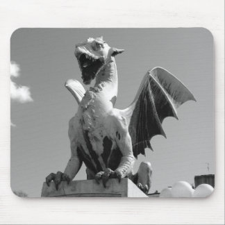 Dragon statue in Ljubljana Slovenia Mouse Mat