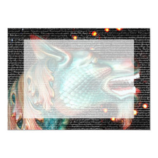 dragon statue with text overlay pic announcement