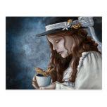 Dragon Steamed Tea Postcard