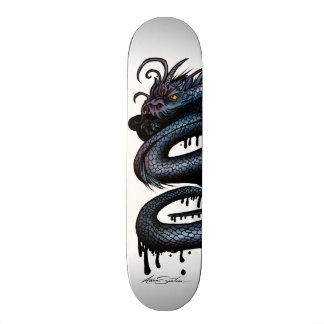 Dragon Swirl 20 Cm Skateboard Deck