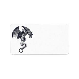 Dragon & Sword Address Labels