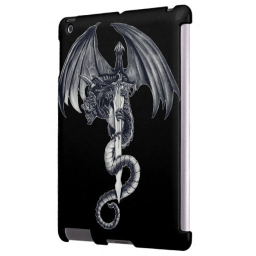 Dragon & Sword iPad Barely There Case