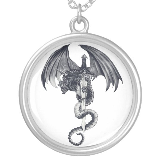 Dragon & Sword Necklace