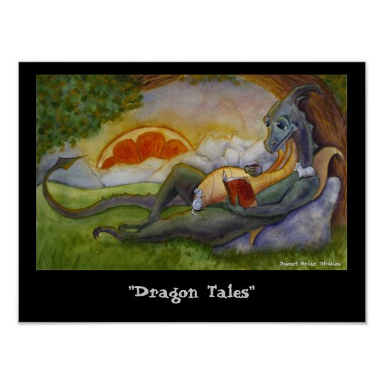 """Dragon Tales"" Poster"