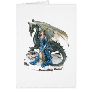 Dragon Tamer Greeting Card