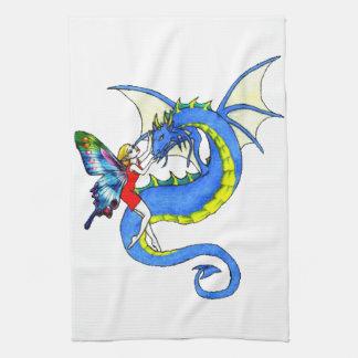 Dragon Tamer Tea Towel
