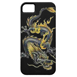 Dragon tattoo art cool fantasy creature fire iPhone 5 cover