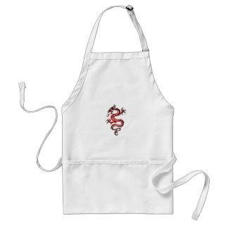 Dragon Tattoo - Red Standard Apron