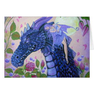 Dragon Tears Sympathy Greeting Card
